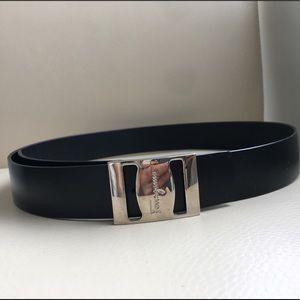 Authentic, Ferragamo leather belt. Never worn.
